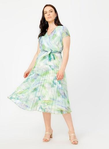 Selen Elbise Yeşil